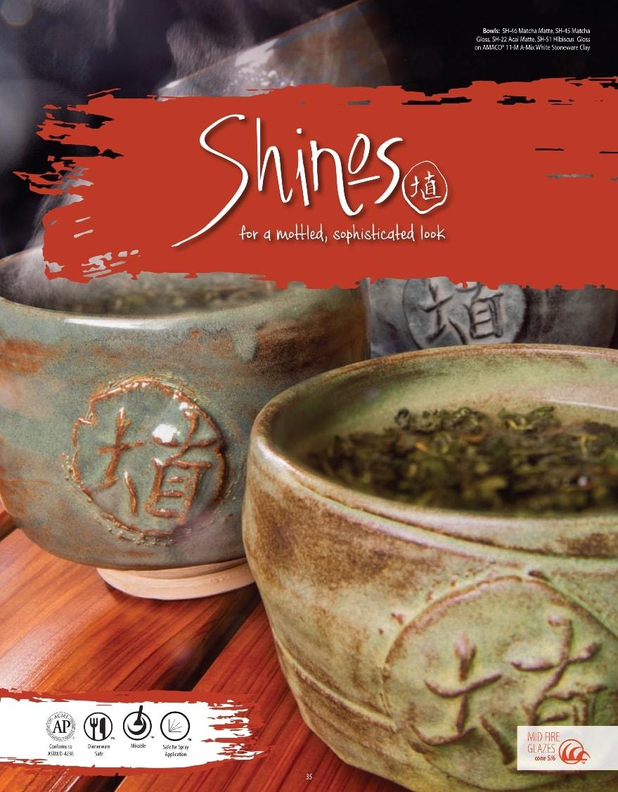 AMACO Shino Glazes