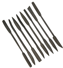 Scarva Tools 8 Piece Steel Rasp Tool Set
