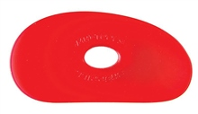 Red Flexible Rib No. 1 - VERY SOFT Flex by Mudtools