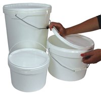 Bucket with Sealing Lid by Scarva