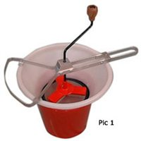 Talisman Rotary Sieve Set With 80 Mesh Screen