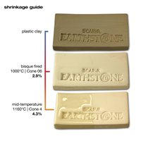 Scarva Earthstone ES130 White Earthenware Clay