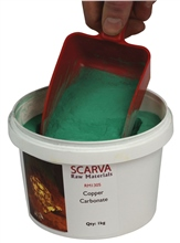 Copper Carbonate RM1305 by Scarva Raw Materials