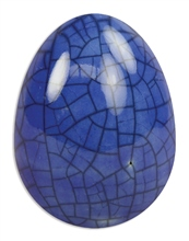 Scarva Nano Colours NK09 Blue Earthenware Crackle Glaze