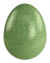 Scarva Nano Colours NK25 Green Stoneware Crackle Glaze Glaze