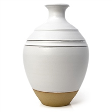 GZ2144 Stoneware Matt White by Scarva
