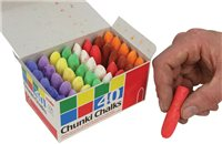 Scarva Chunki Chalks Colour - 40 box