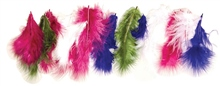 Scarva Fluffy Feathers Short - 7.5-10cm 45 Pack
