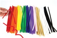 Scarva Chenille Pipe Cleaners - 100 Pack