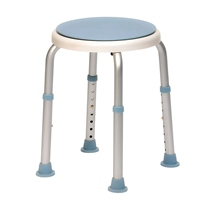 Scarva Adjustable Stool with Swivel Seat