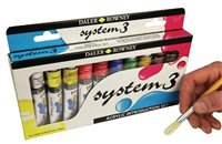 Daler Rowney System 3 Introduction Set - 10 x 22ml Tube Set