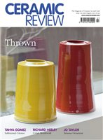 Ceramic Review Issue 262 Jul/yAugust 2013