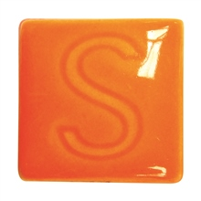 Spectrum 744 Bright Orange Glaze