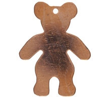 W G Ball Teddy Bear 25mm x 30mm