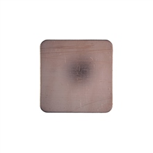 W G Ball Flat Square 22mm x 22mm