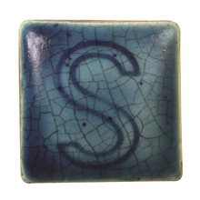 Spectrum 140 Blue Earthenware Crackle Glaze