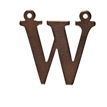 W G Ball CB2022 Letter W 20mm x 20mm