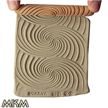 10cm Hand Roller 28 - Galactic Spiral by MKM Tools