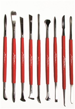 Professional Series Set of 9 Carving Sculpting Tools by Xiem Tools