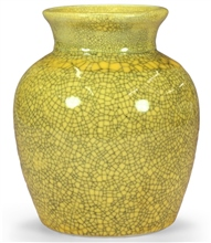 Scarva Nano Colours NPK012 Honey Yellow Porcelain Crackle Glaze