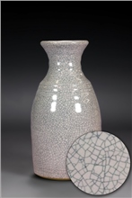 Scarva Nano Colours NAK005 Blushing Pink Stoneware Crackle Glaze