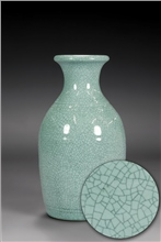 Scarva Nano Colours NAK009 Sky Blue Stoneware Crackle Glaze