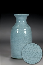 Scarva Nano Colours NAK010 Cornflower Blue Stoneware Crackle Glaze