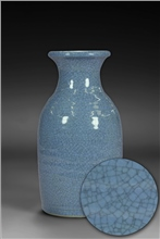 Scarva Nano Colours NAK011 Denim Blue Stoneware Crackle Glaze