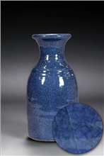 Scarva Nano Colours NAK012 Monaco Blue Stoneware Crackle Glaze