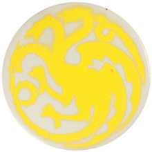 Dragon Stains Sun Yellow Leadfree Glaze Stain B100