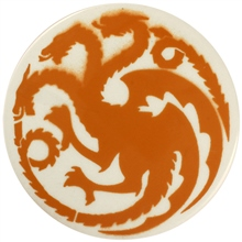 Dragon Stains Orange Leadfree Glaze Stain B122