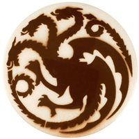 Dragon Stains Caramel Brown Leadfre Glaze Stain B109
