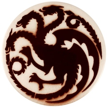 Dragon Stains Sepia Leadfree Glaze Stain B127