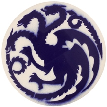Dragon Stains Cornflower Leadfree Glaze Stain B117
