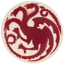 Dragon Stains Crimson Leadfree Glaze Stain B120