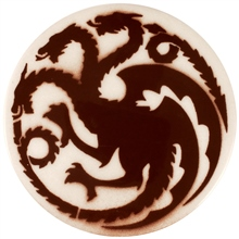 Dragon Stains Nut Brown Leadfree Glaze Stain B110