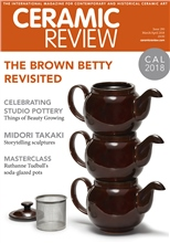 Ceramic Review Ceramic Review Issue 290 March/ April 2018