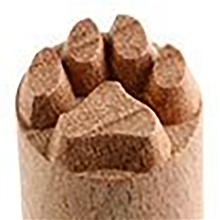 MKM Tools Small Debossed Paw Print Stamp