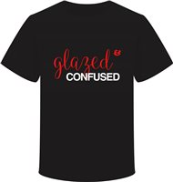 Scarva Apparel Glazed & Confused Unisex T-Shirt - Black
