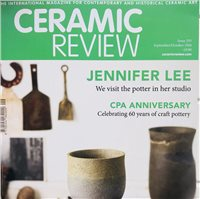 Ceramic Review Issue 293 Sept/Oct 2018