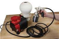 Scarva Diaphragm Compressor Outfit with Gun & Hose