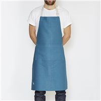 Enrich & Endure 100% Irish Linen Handmade Classic Electric Blue Apron