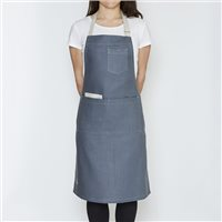 Enrich & Endure 100% Irish Linen Handmade Heavy Platinum Apron