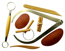 Scarva Tools 8 Piece Pottery  Set