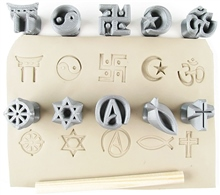 Relyef Pottery Tools Religious Symbols 0.8 (20mm)