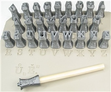 Relyef Pottery Tools Set of Marian Alphabet 10mm