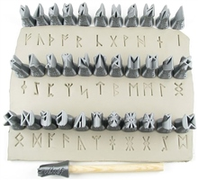 "Relyef Pottery Tools Set of Runes 1/2"" (13mm)"