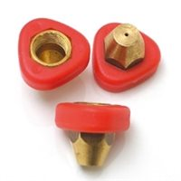 Scarva Nozzle Set for Manual Pump Spray Gun (Orange)