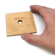 Garrity Tools - Wooden Texture Tool Micro by Garrity Tools