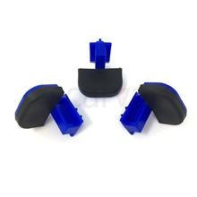 Giffin Tec Giffin Grip Blue Wide Sliders - Set of 3